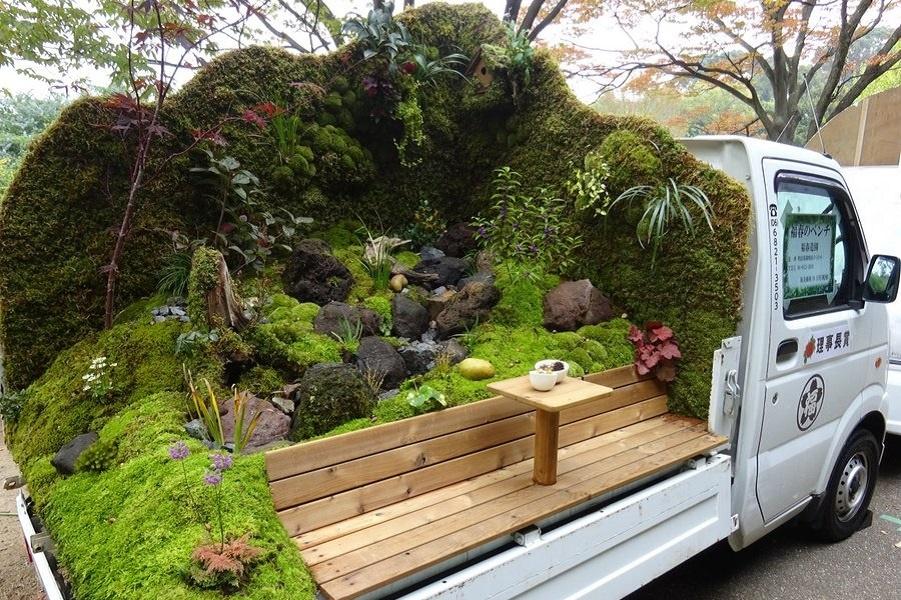 Японский конкурс мини – сада: новый жанр в области ландшафтного дизайна