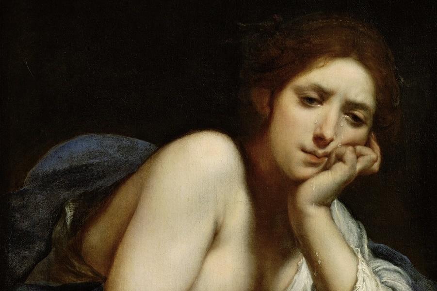 Кающаяся святая Мария Магдалина (The penitent Saint Mary Magdalen)_1630-1635_69 х 59.5_х.,м._Вена, Музей истории искусств.jpg