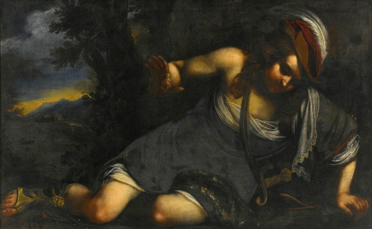 Нарцисс (Narcissus) (атр)_90.8 х 144.8_х. на д.,м._Частное собрание.jpg