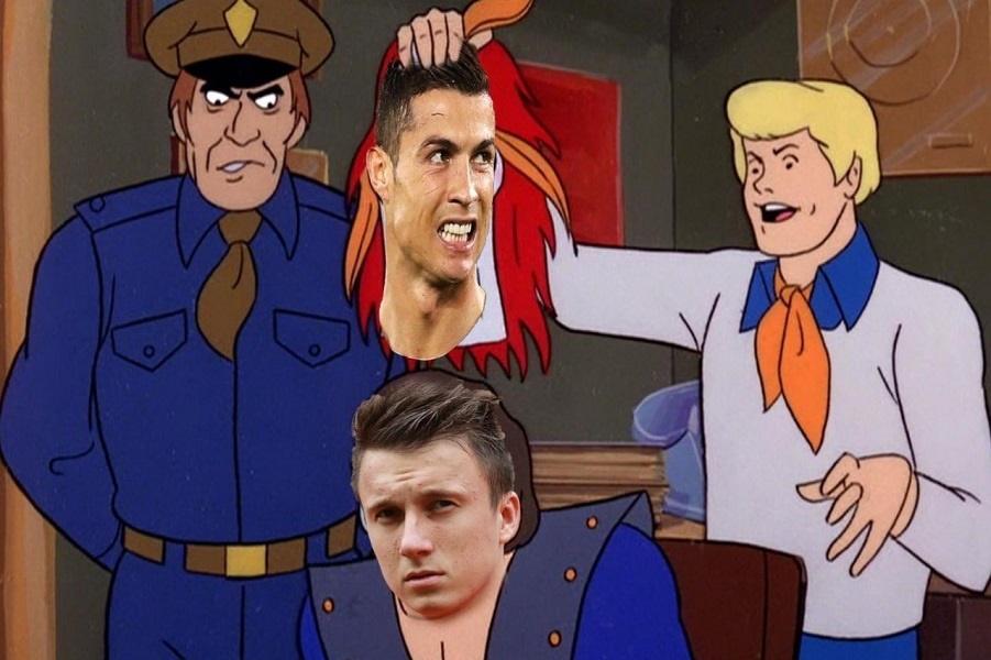 Роналду в матче против Испании и еще 22 лучших футбольных мема про ЧМ в России