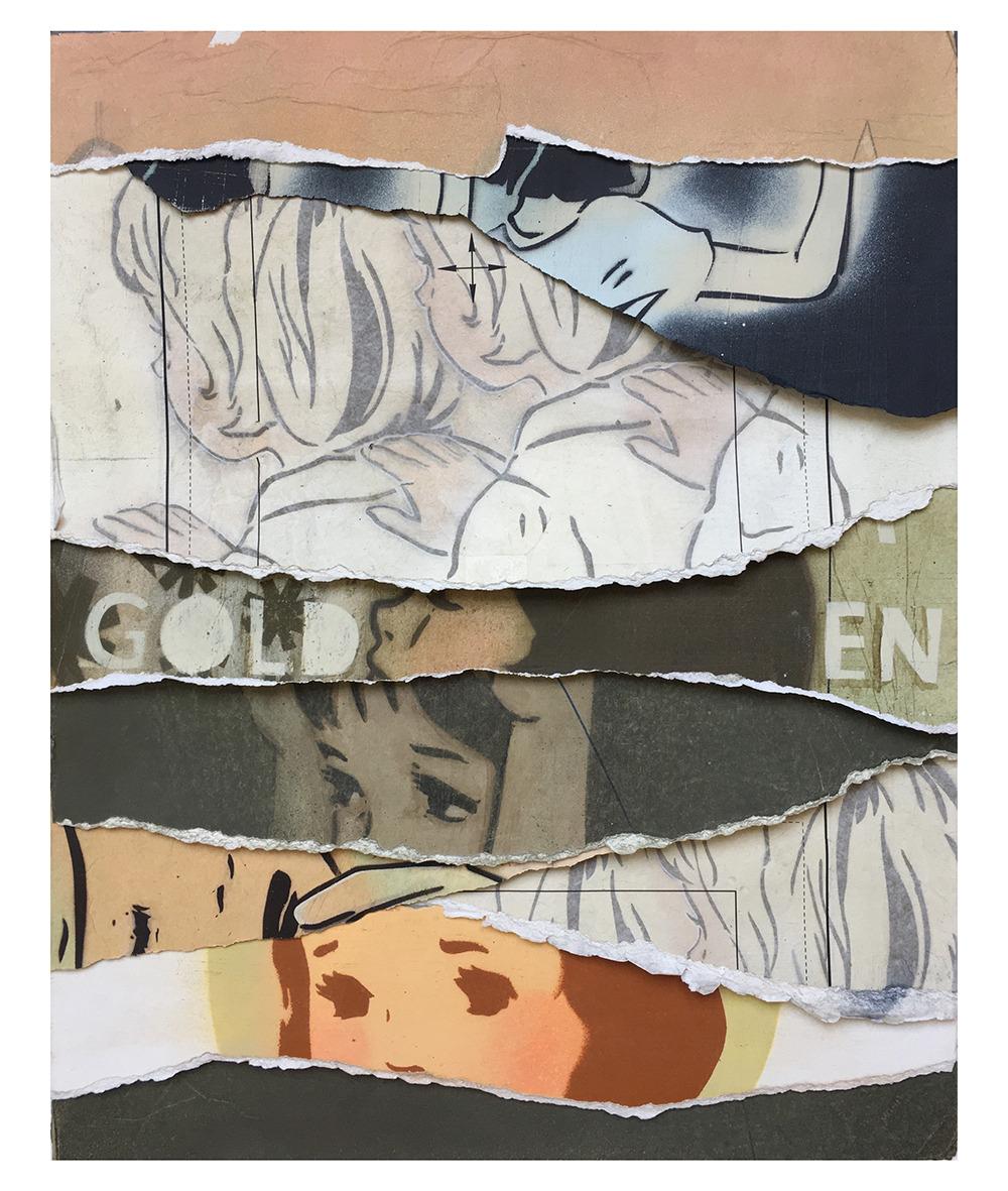 Аманда Мари: «Один трюк» верите, двойные, середины, гдето, между, тревожным, миром, мечтой, реальностью, повторяет, графические, детей, животных, предпочитят, зеркальные, детской, образы, уличное, искусство, настенные