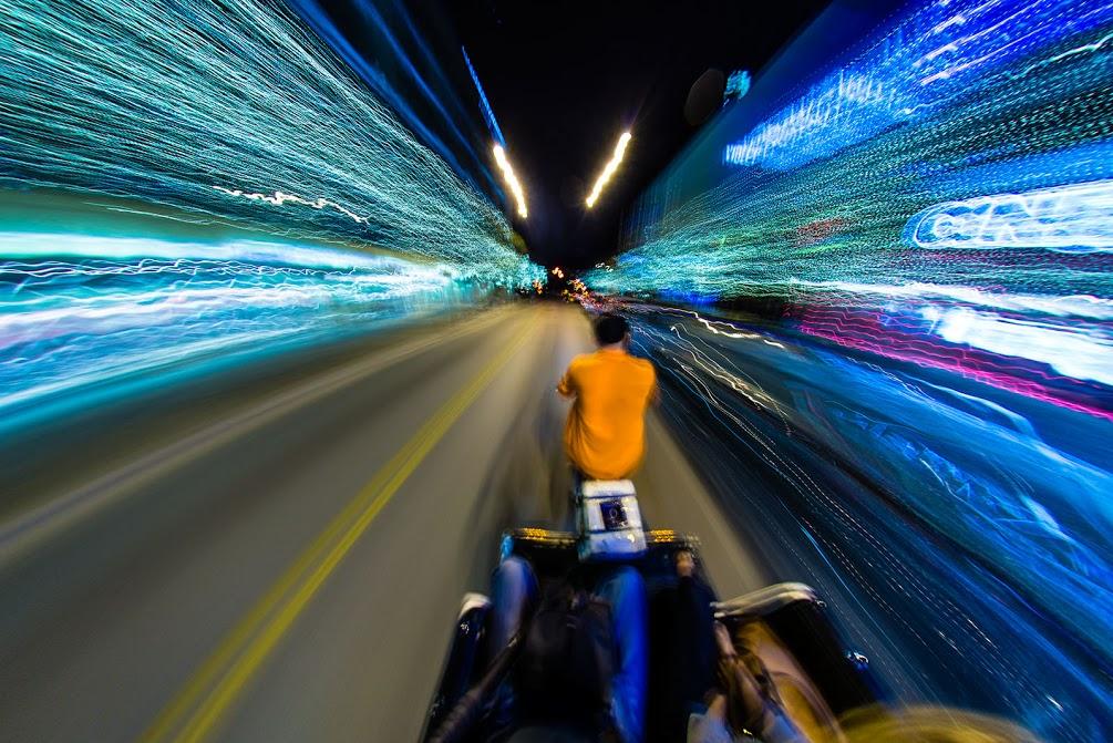 Pedicab Warp Drive AustinPhotowalk2013