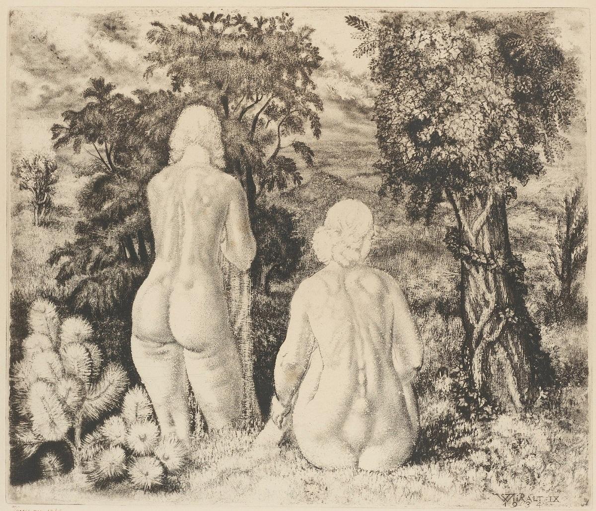 1934_Обнаженные в пейзаже (Nudes In Landscape)_35.5 x 46.5_офорт.jpg