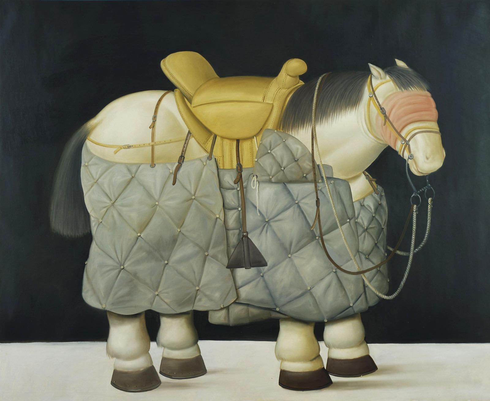2002_Лошадь пикадора (Horse of the Picador)_190 x 234_х.,м._Частное собрание.jpg