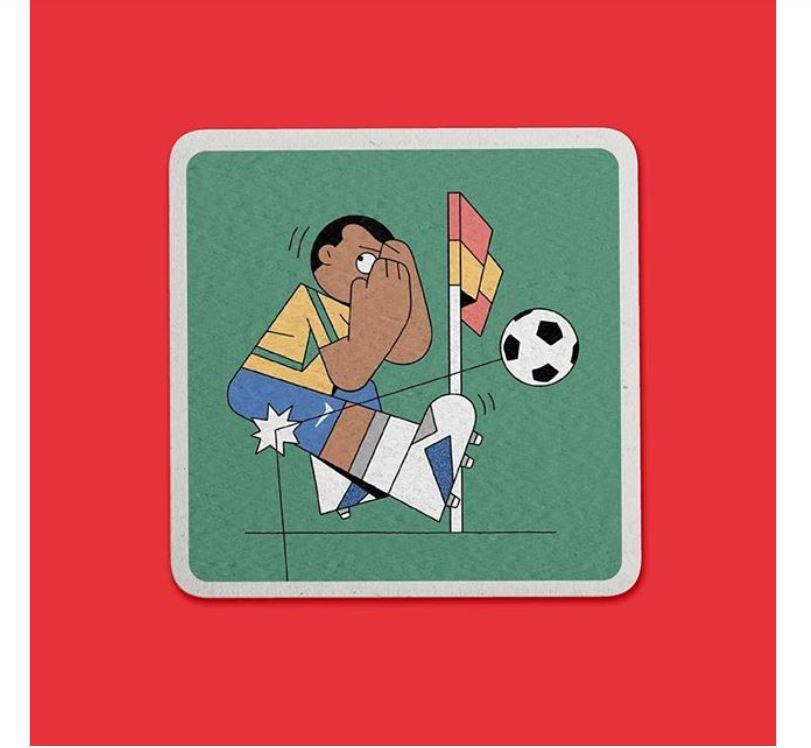 Лучшие иллюстрации чемпионата мира по футболу 2018 года ПЛАКАТ, игроков, чемпионата, футболу, праздник, Heftl, Tschutt, Прошел, настолько, именно, поэтому, становится, продолжил, особенной, уникальной», работ, «ЛУЧШИЙ, МИРА», ЭМИЛИИ, история