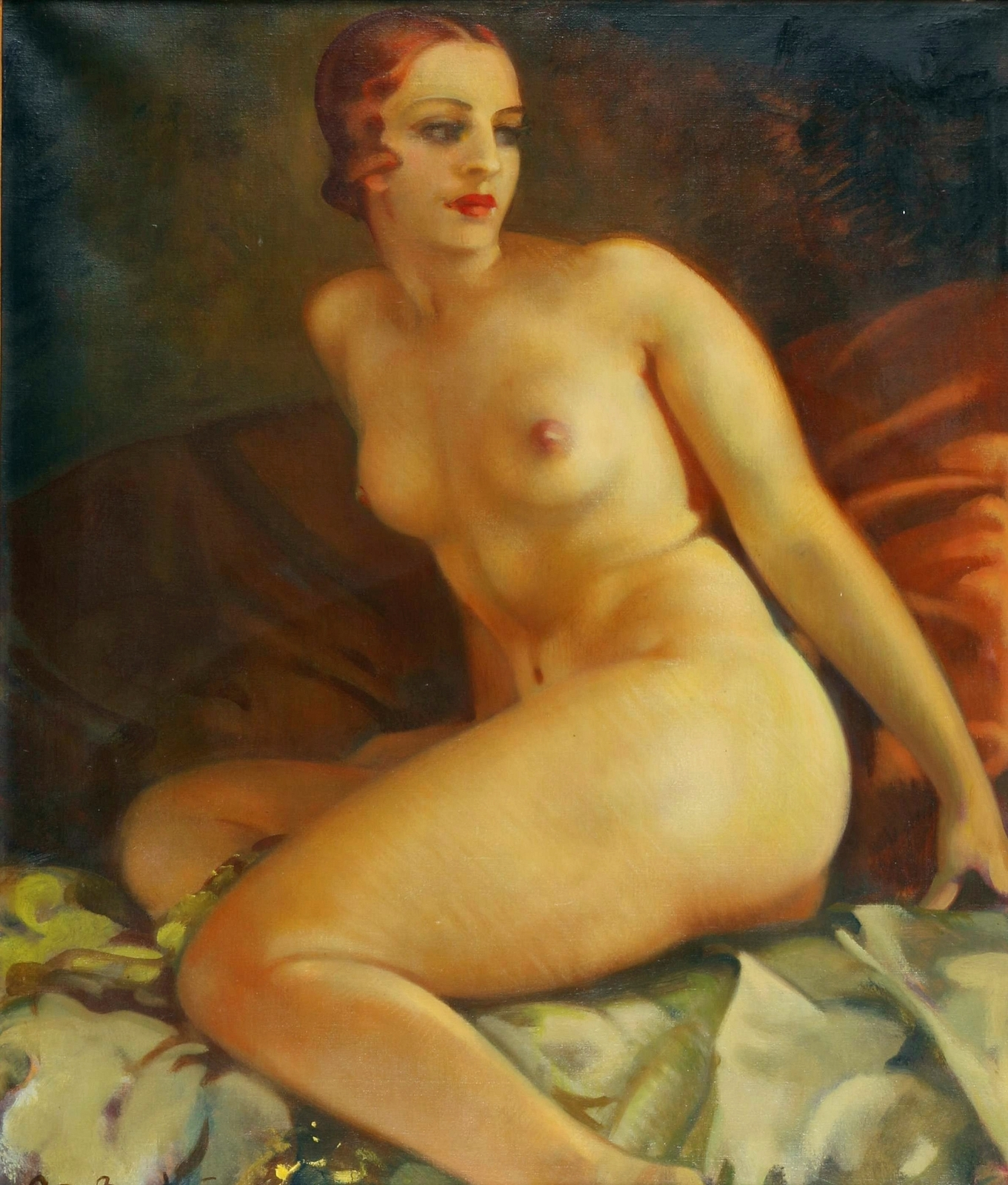 Arnulf de Bouche, 1872-1945 (Германия)_Утро (Morning)_68 х 57_х.,м._Частное собрание.jpg