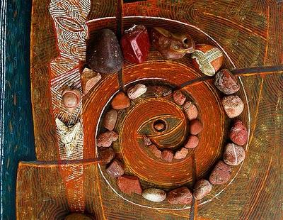 Jos van Wunnik red stone spiral