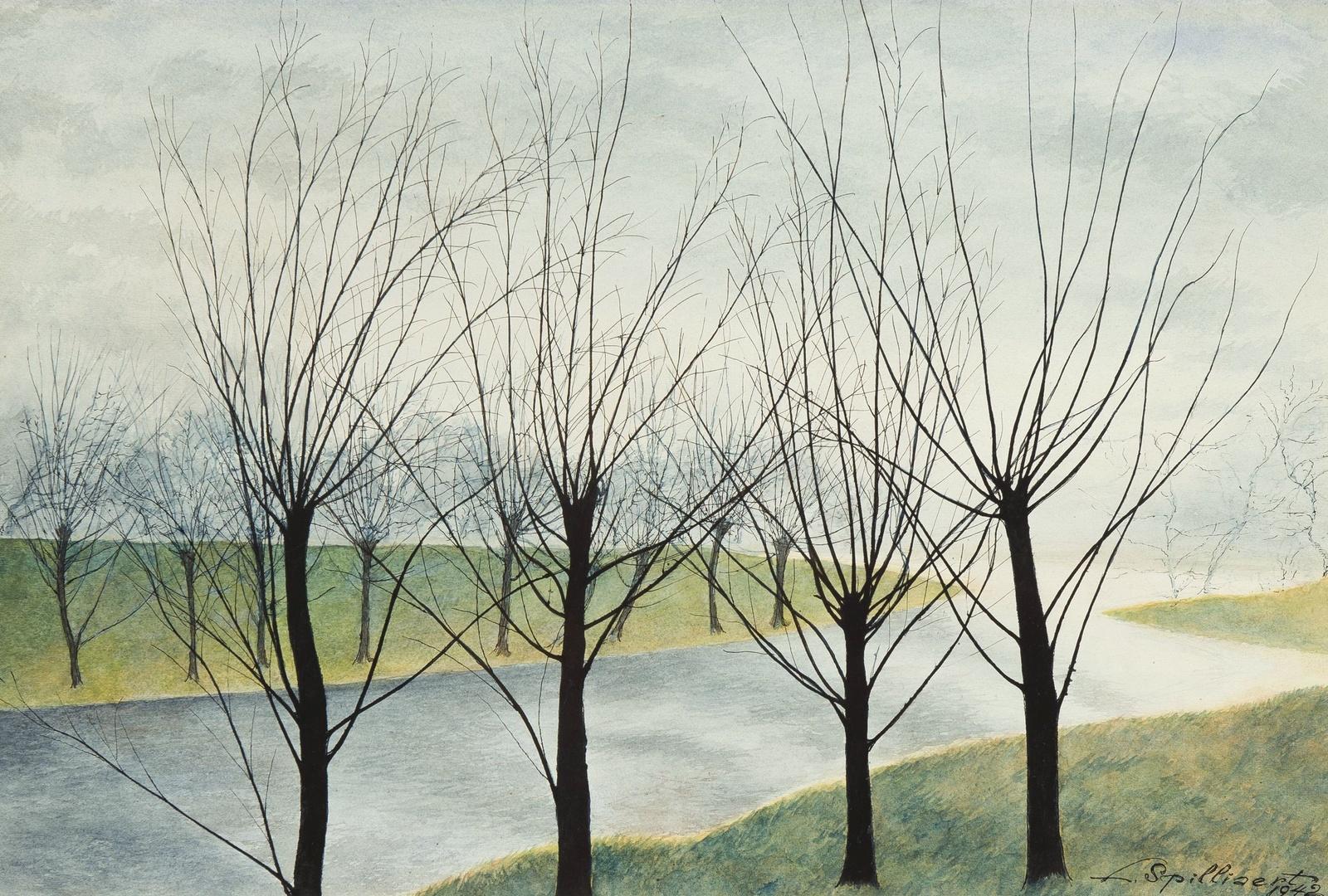 1942_Ивы на берегу (Willows at the waterside)_37.5 х 56_бумага, акварель_Частное собрание.jpg