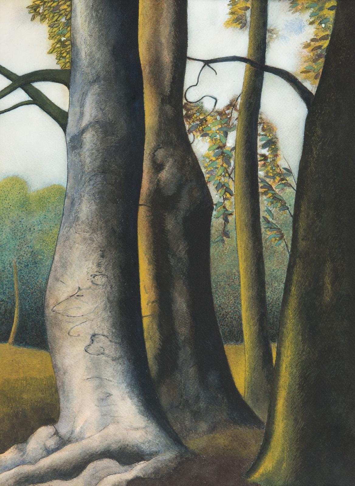 1945_Деревья (Trees)_61 х 44.5_бумага, акварель, гуашь и тушь_Частное собрание.jpg