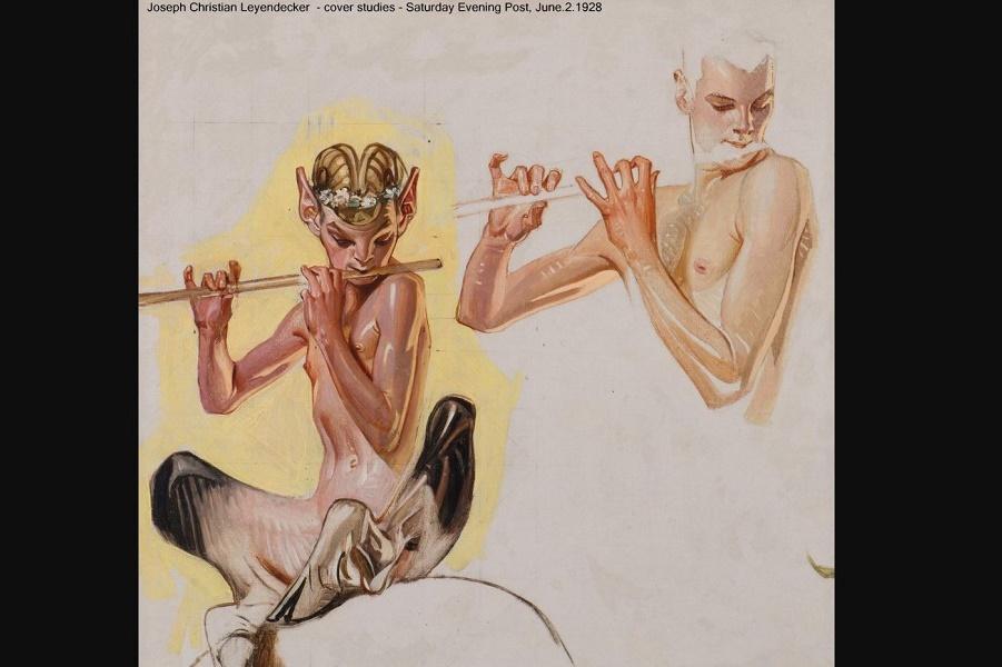 Мужской эротизм в иллюстрациях