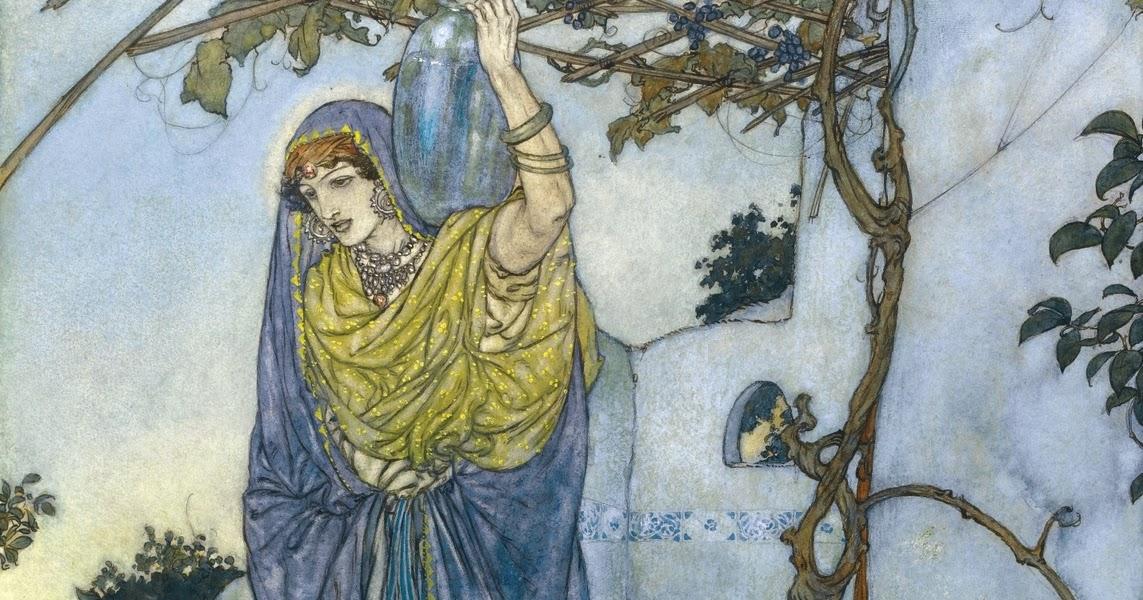 1_1909_Пришла в сумерках как ангел (Came Shining Through The Dusk An Angel Shape)_31.5 х 22.6_акварель и тушь_Частное собрание.jpg