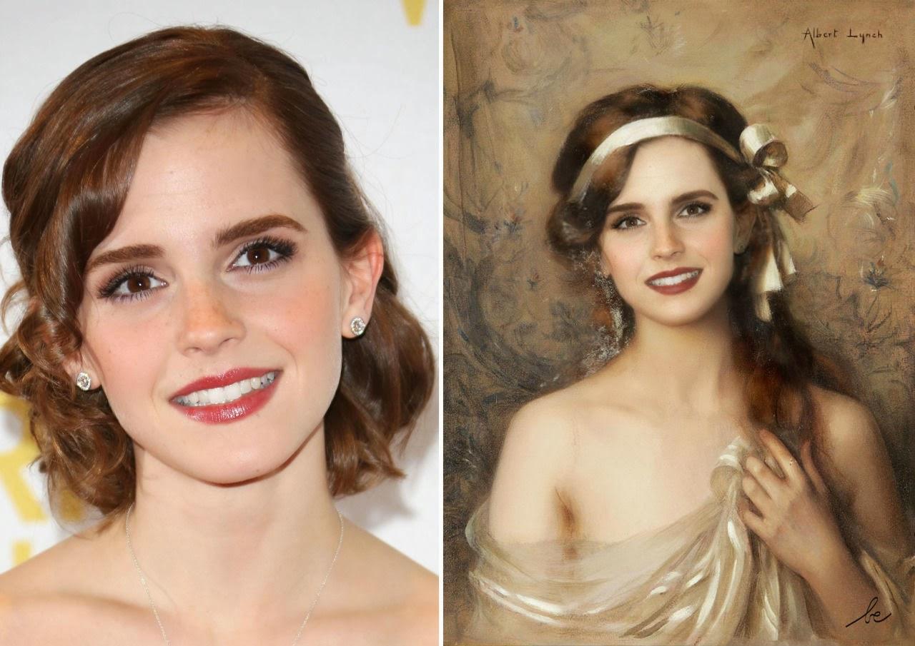 Emma Watson in The White Ribbon by Albert Lynch Tutt'Art@.jpg