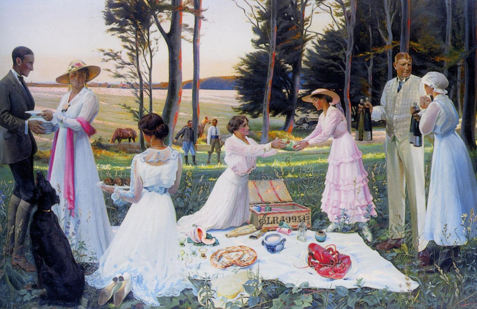 1919_Полуденный пикник (The afternoon picnic)_х.,м._Частное собрание.jpg