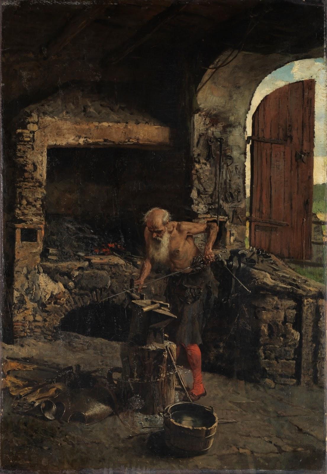 MARIANO FORTUNY Y MARSAL - O espadeiro - Óleo sobre tela - 75 x 52 - 1867.jpg