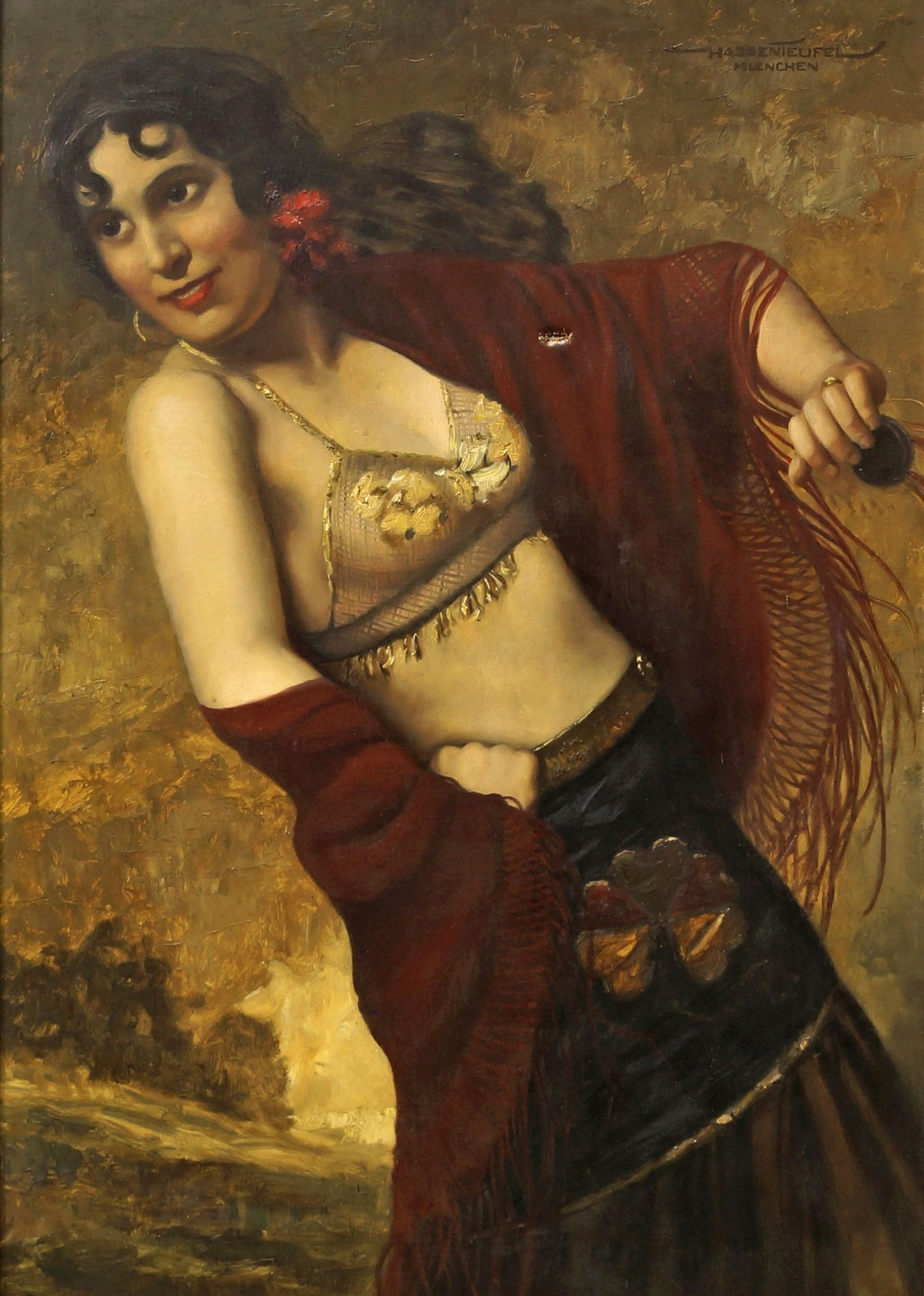 Экзотическая танцовщица (Portrait of an exotic dancer)_100 х 70_х.,м._Частное собрание.jpg