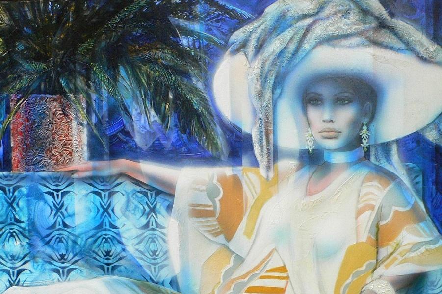 Бирюзовая атмосфера (Ambiance turquoise)_х.,м._Частное собрание.jpg