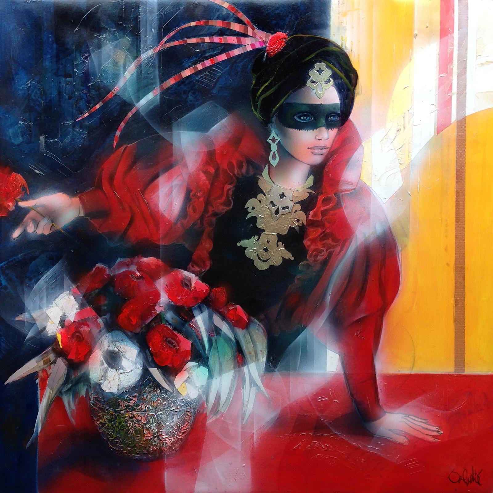 1_Женщина в черной маске (La femme au masque noir)_80 х 80_х.,м._Частное собрание.jpg