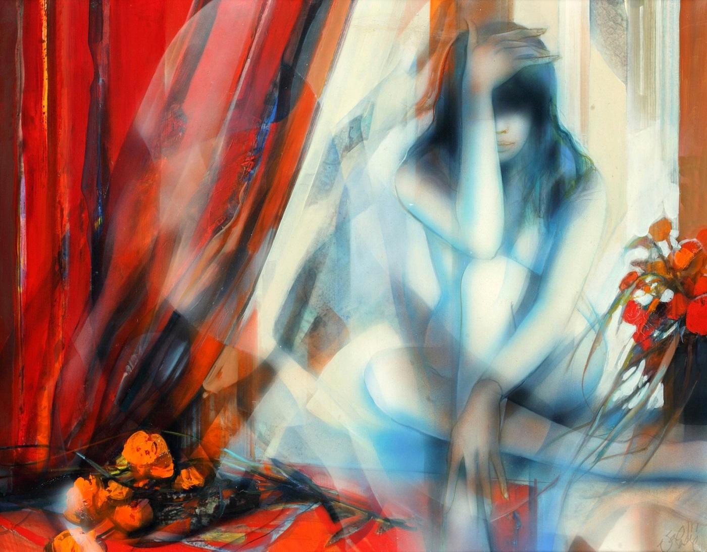 Красный занавес (Rideau rouge)_73 х 92_х.,м._Частное собрание.jpg