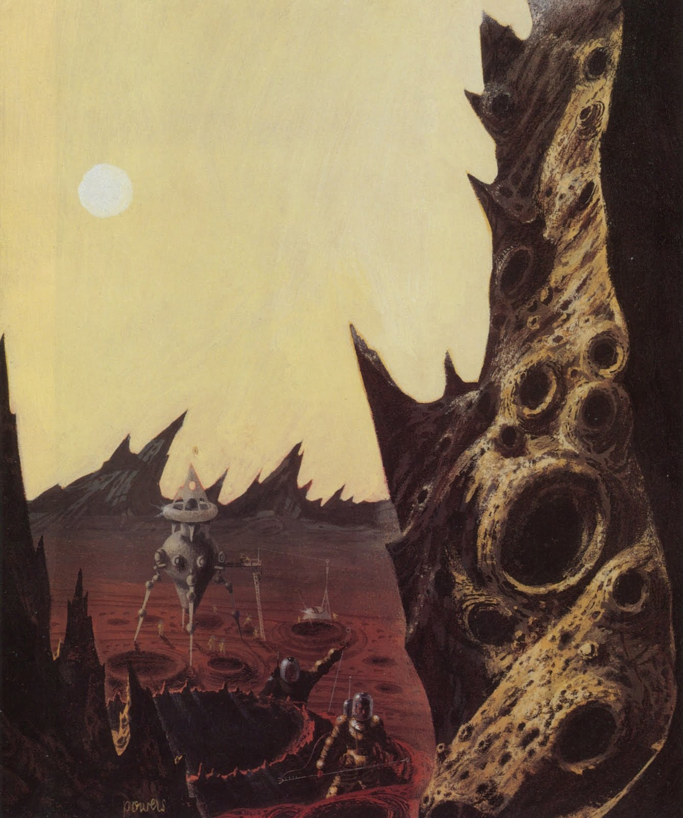 The Art Of Richard Powers 01 Star SF Stories 1 1953 (Back Cover).jpg