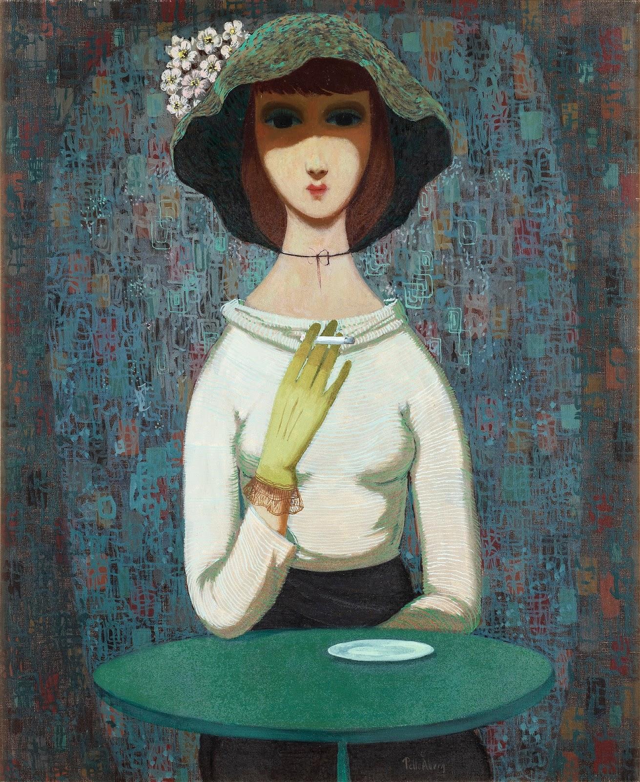 Девушка с сигаретой_73 x 59.5_х.,м._Частное собрание.jpg