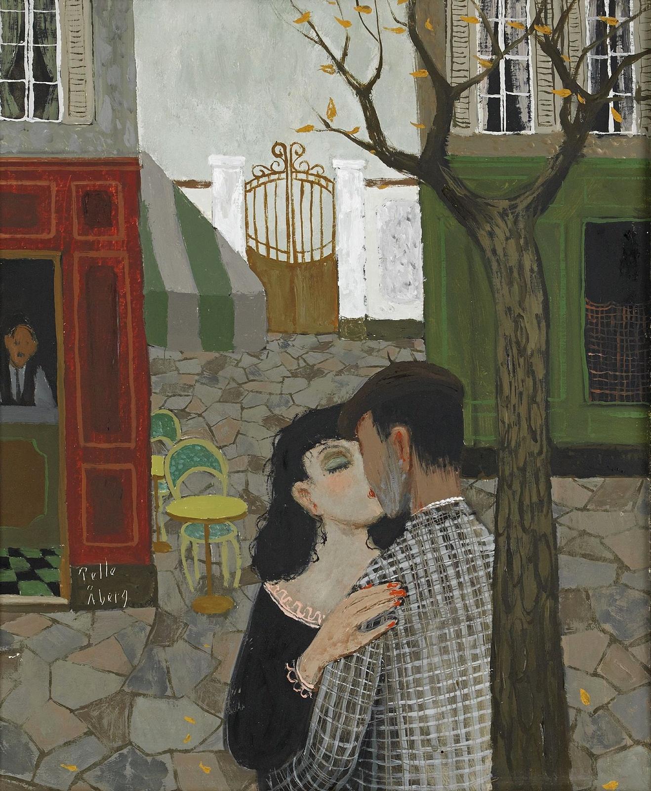 Поцелуй (The Kiss)_46 х 38_д.,м._Частное собрание.jpg