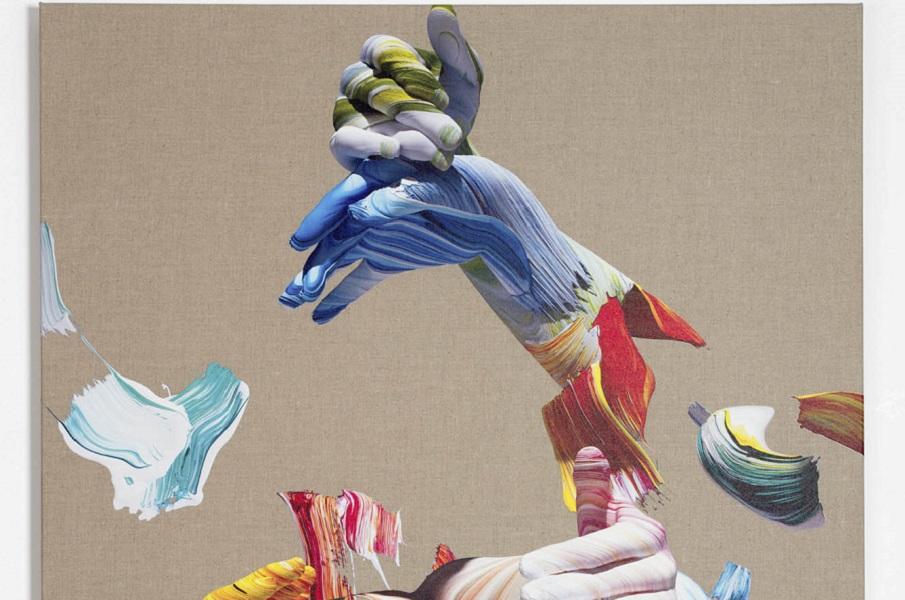 Кисть и цифра - фигурные композиции Мэтью Стоуна