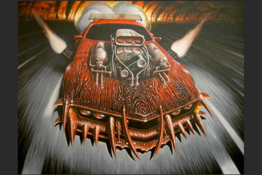 Mad Max: под знаменами безумия и ярости, концепты Питера Паунда