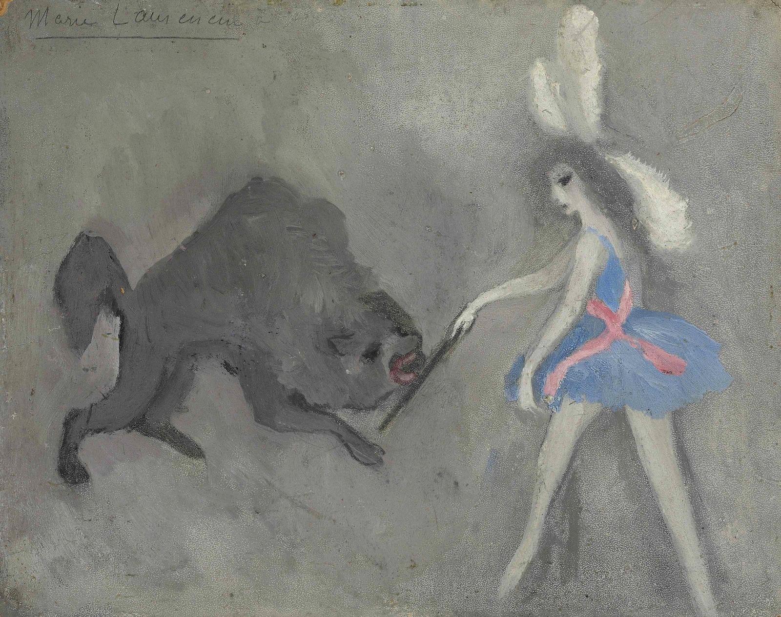 1916 (ок)_Укротительница (La dompteuse)_19 x 24_д.,м._Частное собрание.jpg