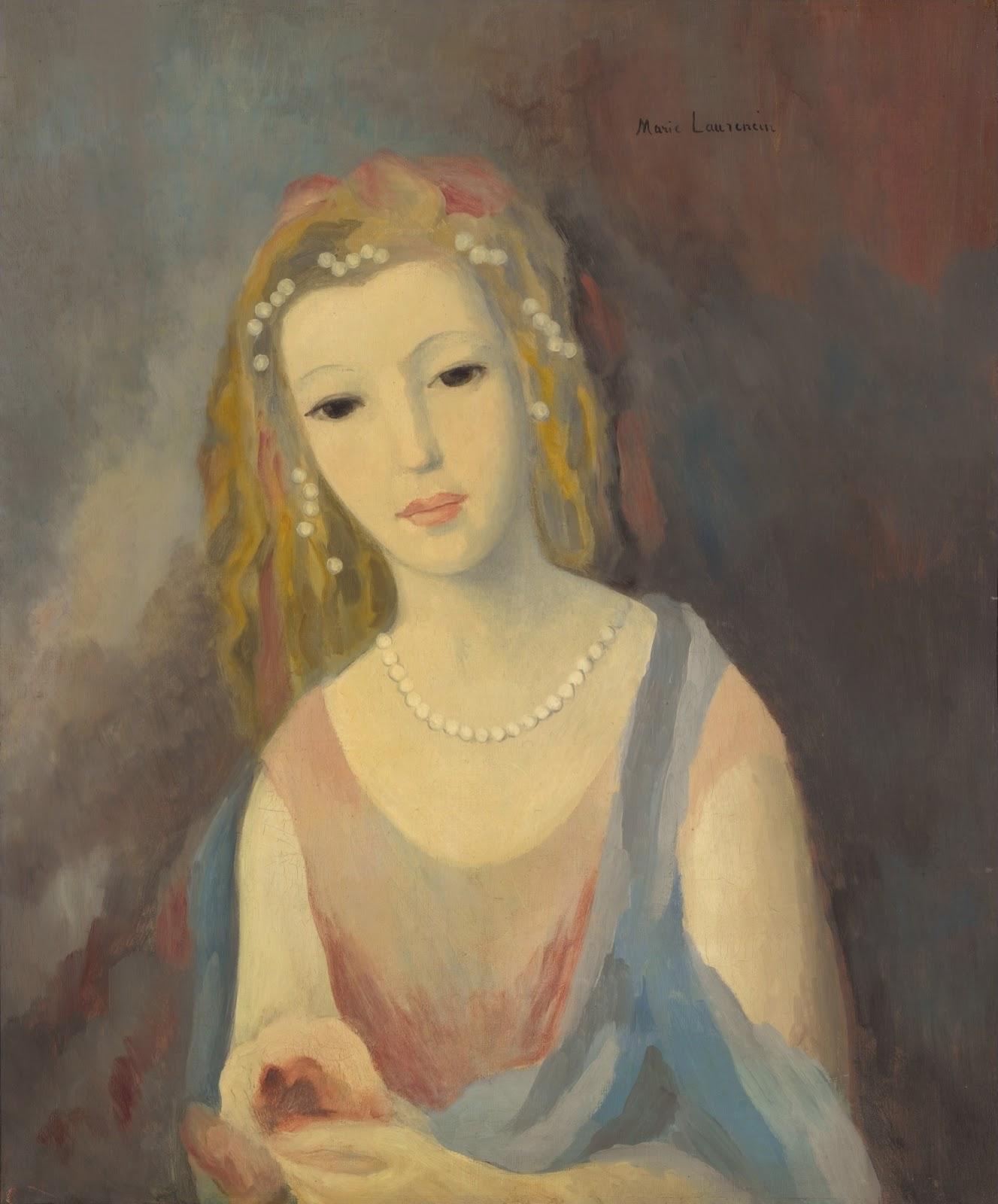 1937_Девушка с цветами в волосах (Jeune fille a la chevelure fleurie)_64.7 х 53.6_х.,м._Частное собрание.jpg