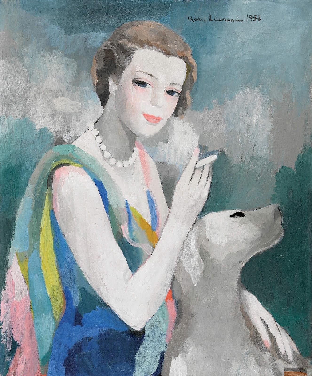 1937_Портрет Марсель Дорму (Portret de Marcele Dormoy, 1895-1976)_65 х 54.5_х.,м._Частное собрание.jpg