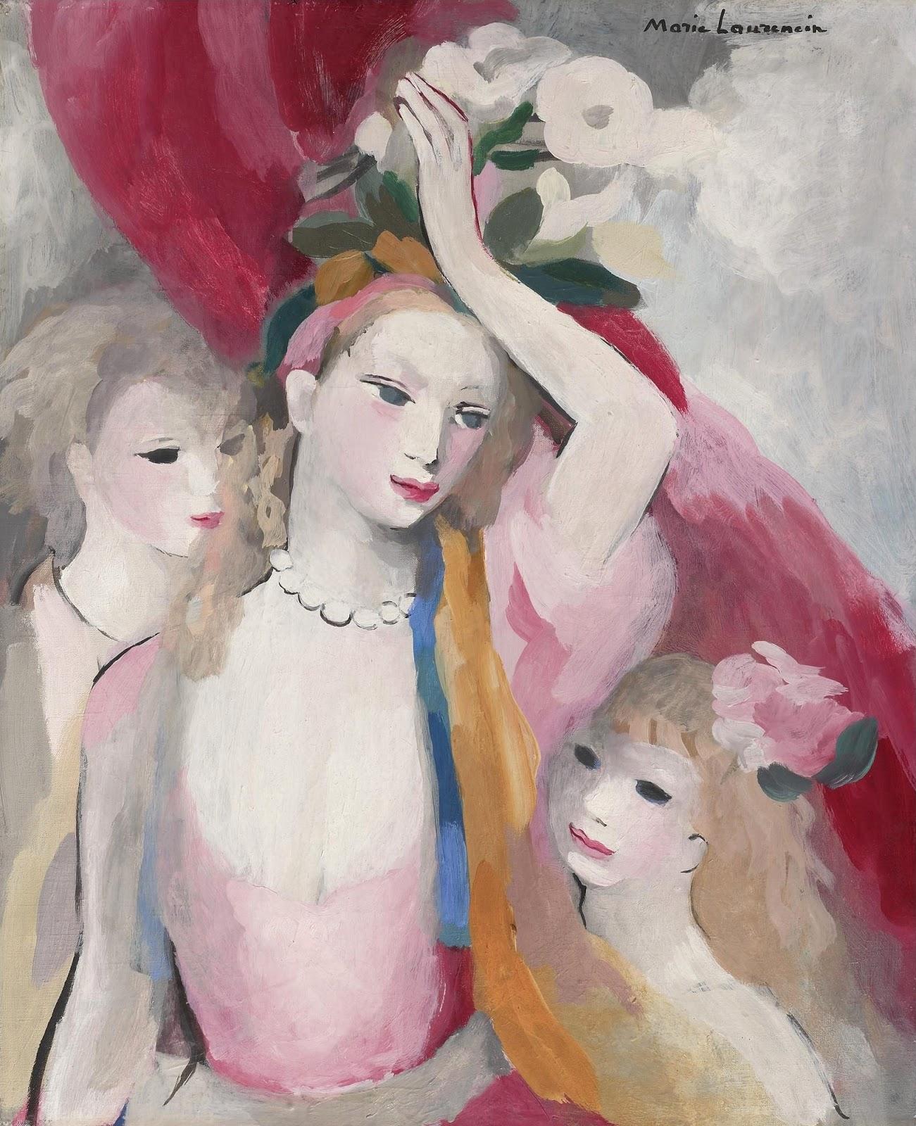 1949_Три девушки (Trois jeunes filles)_61.5 х 50.7_х.,м._Частное собрание.jpg