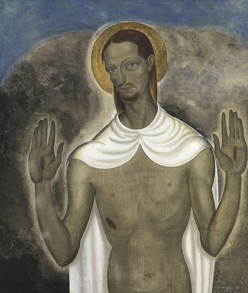 800px-Christus_toont_zijn_wonden,_Gustave_Van_de_Woestyne,_1921,_Koninklijk_Museum_voor_Schone_Kunsten_Antwerpen.jpg