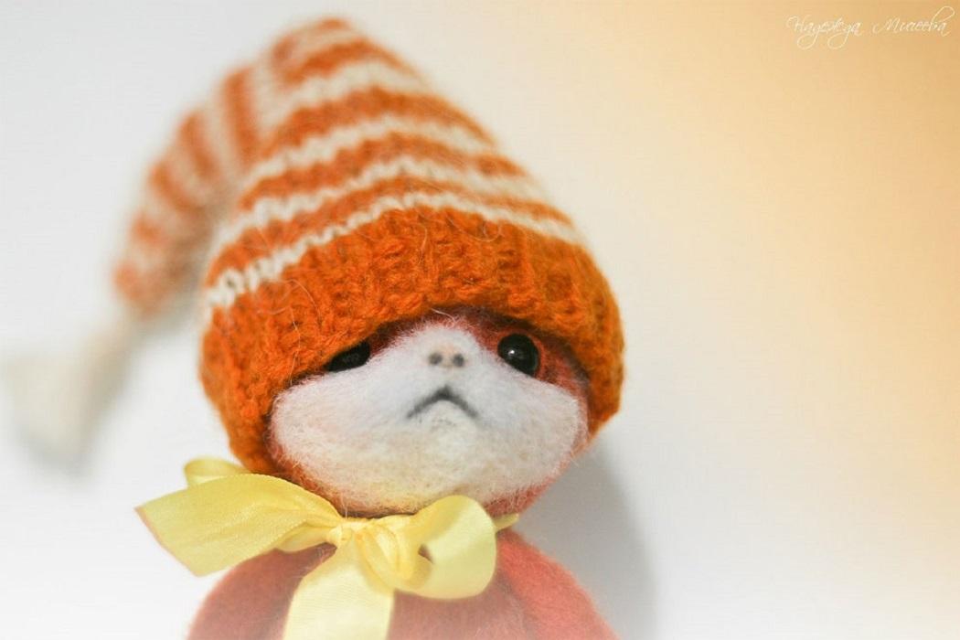 Симпатичные маленькие игрушки Надежды Микеевой