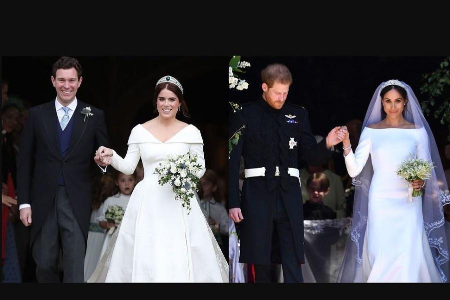 Свадьба принцессы Евгении по сравнению со свадьбой Меган