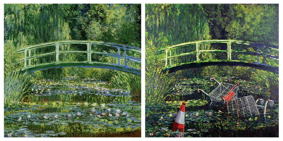 claude-monet_Water-Lily-Pond-1899-Banksy-remix.jpg