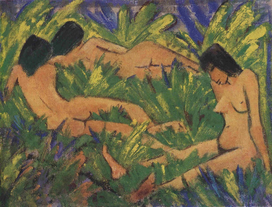 Живопись_Otto-Mueller_Female-Nudes-in-Open-Air-1920.jpg