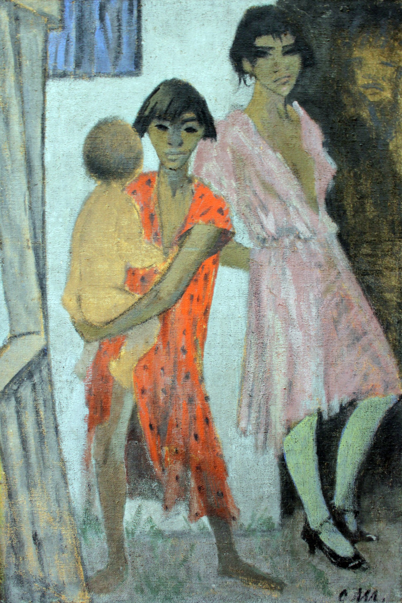 Живопись_Otto-Mueller_Stehende-Zigeunerkinder-1927.jpg