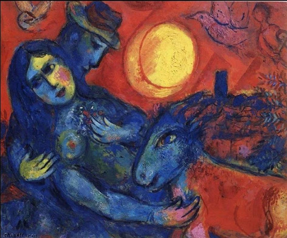 Marc CHAGALL (1887-1985) - Il mondo sottosopra by Catherine La Rose (113).jpg