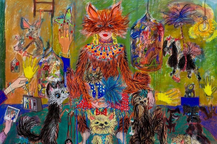 Мир животных и немного людей. Freya Pocklington