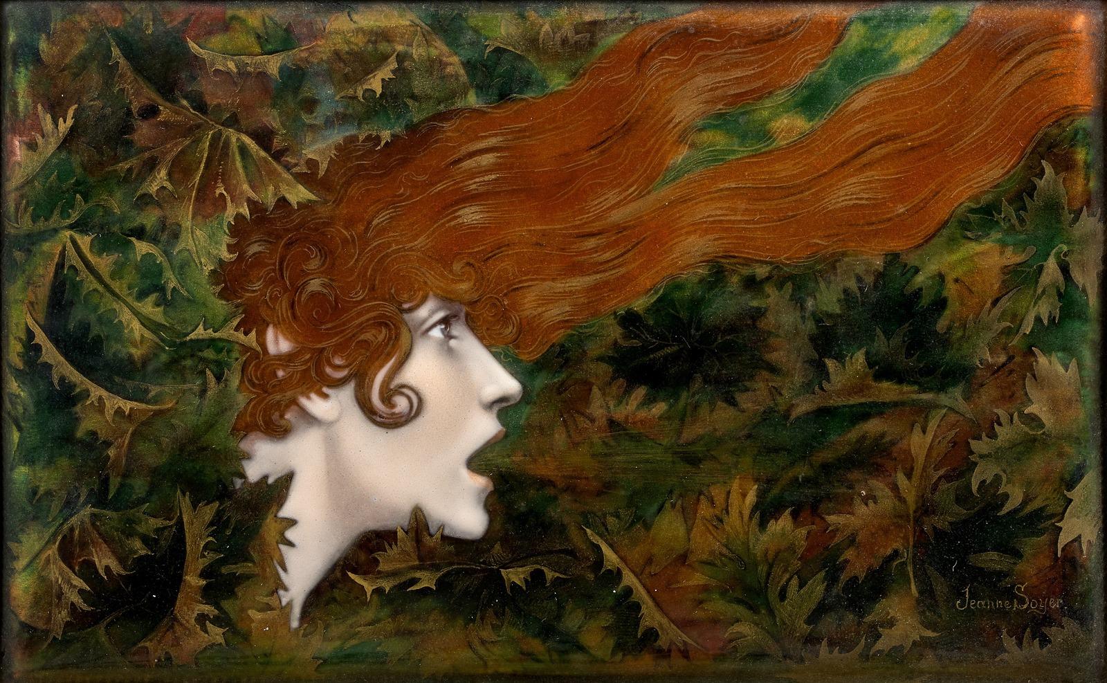 _Jeanne Lemerle-Soyer, 1879-1967______ _____ (__ ____-_____) (La bourrasque, d'apres Lucien Levy-Dhurmer)_11 _ 17______________ _____________ _______…