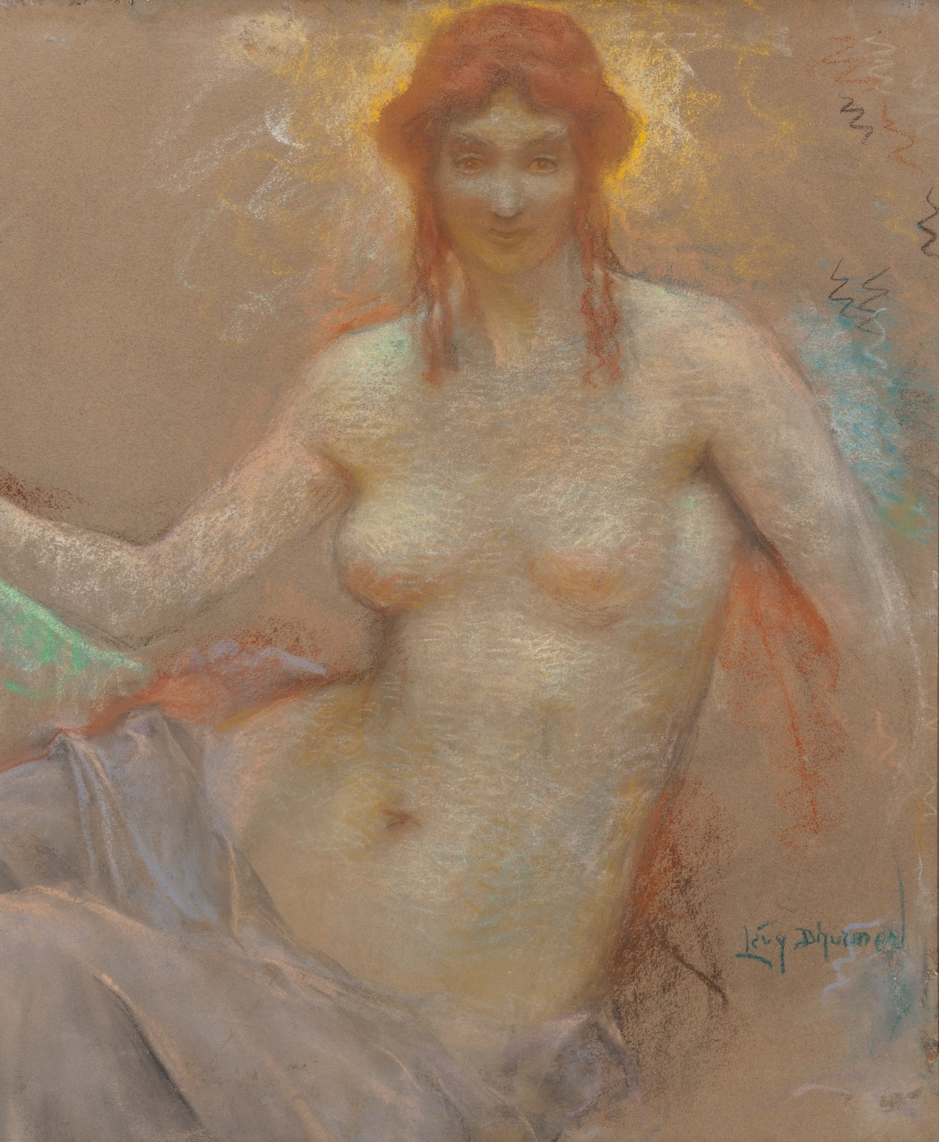Венера (Venus)_66 х 54.6_картон, пастель_Частное собрание.jpg