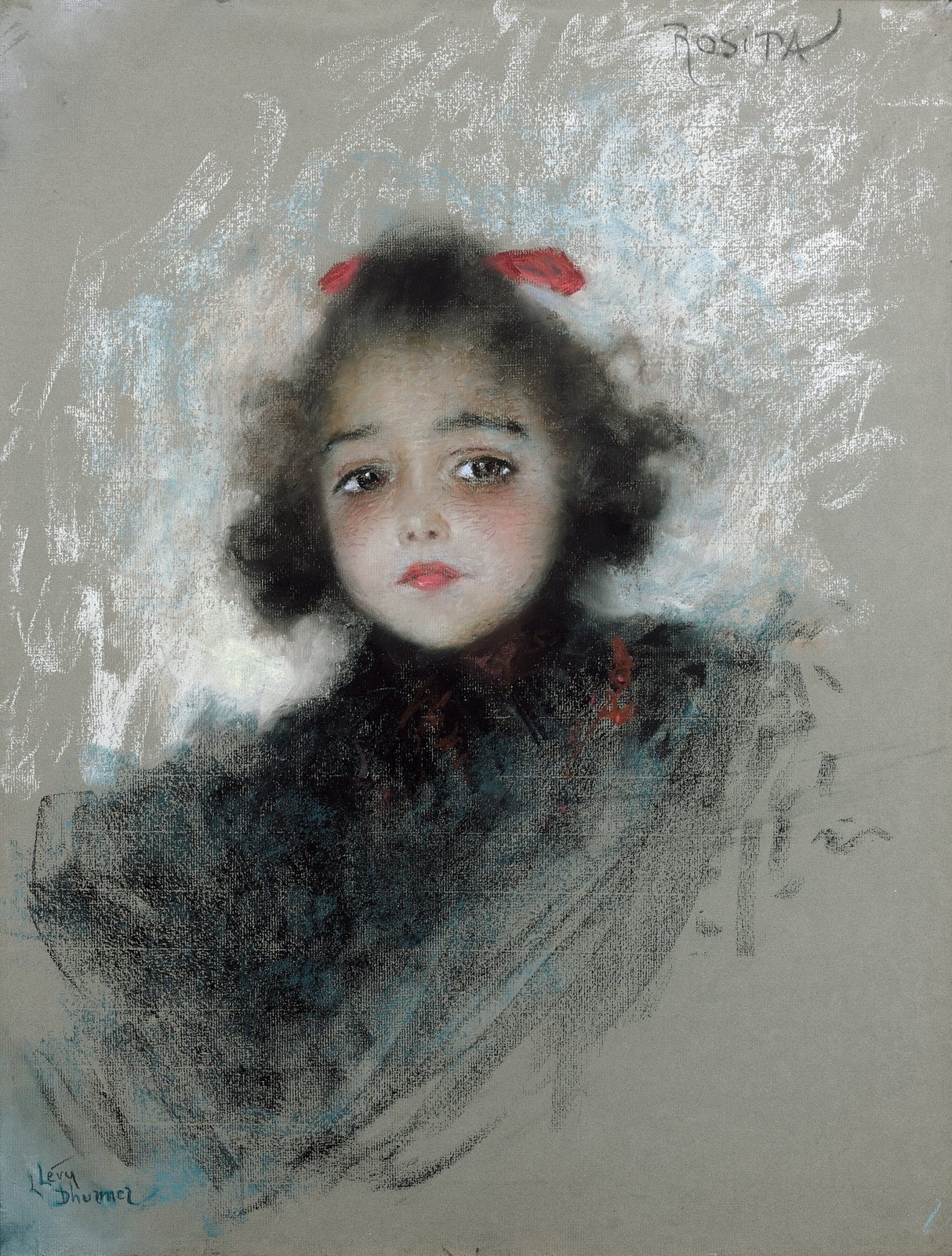 Портрет Розиты (Portrait de Rosita)_61 х 46.5_пастель_Частное собрание.jpg