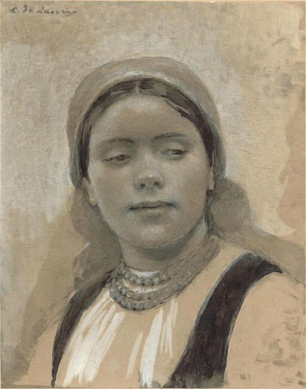 LudwikDeLaveaux.DziewczynaZBronowic.1892.ws.jpg