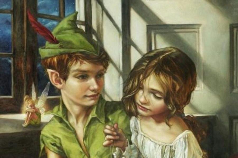 Персонажи Диснея, напоминающие классическую масляную живопись