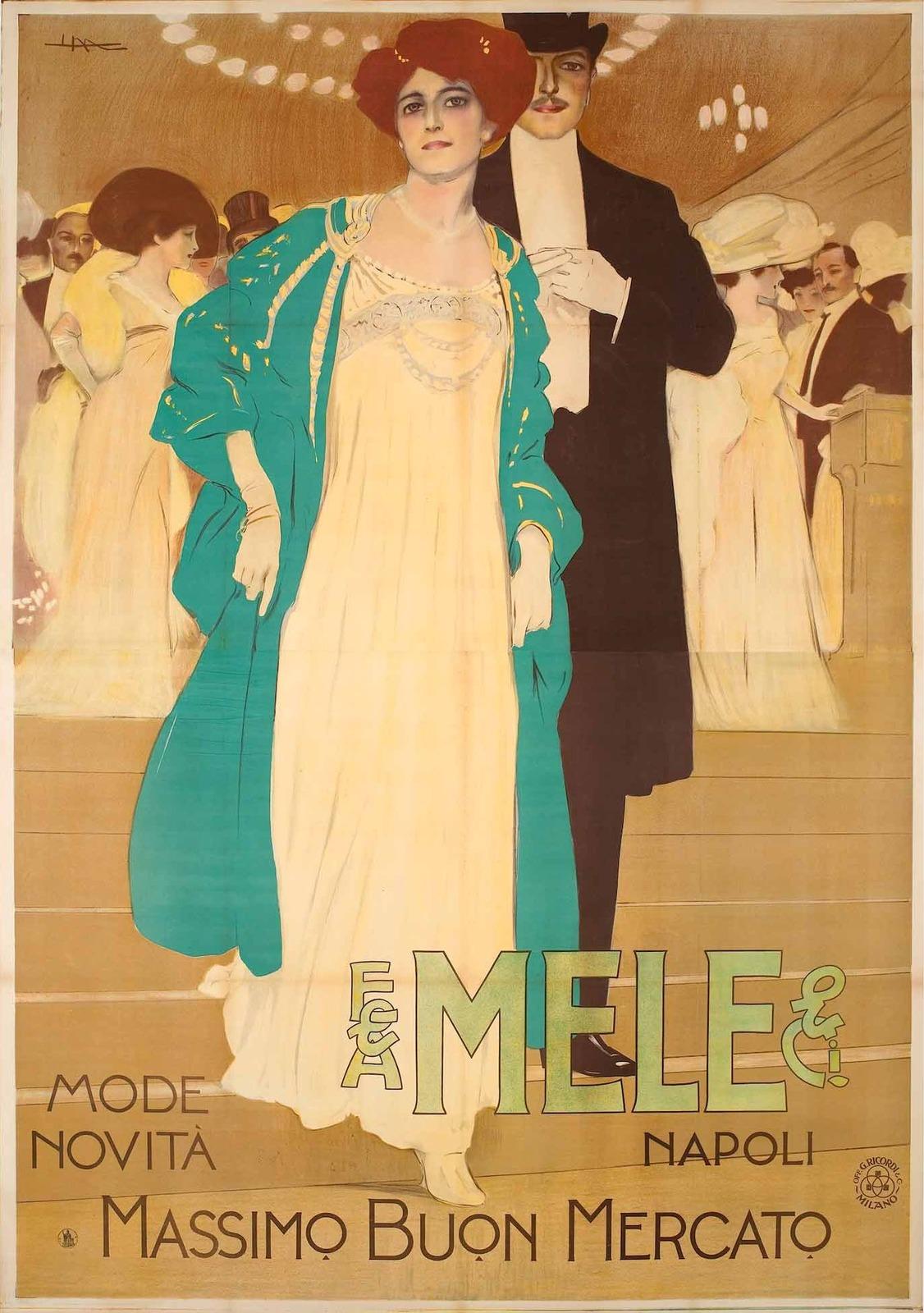 2_1909_Плакат (Poster Mele - Mode novita)_202.2 х 142.5_цветная литография.jpg
