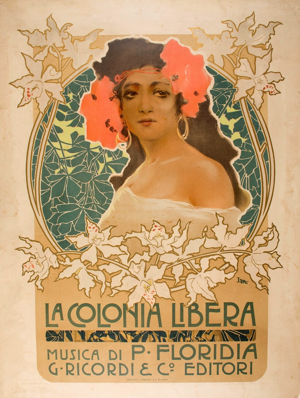 1903_Плакат (Poster La Colonia Libera)_73.7 x 56.8_цветная литография.jpg