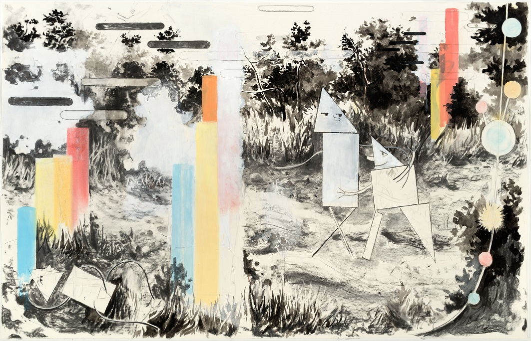 Baumgärtel-Vabanque,-2015,-Charcoal,-ink,-oil-and-pigment-in-paper-140x220cm.jpg