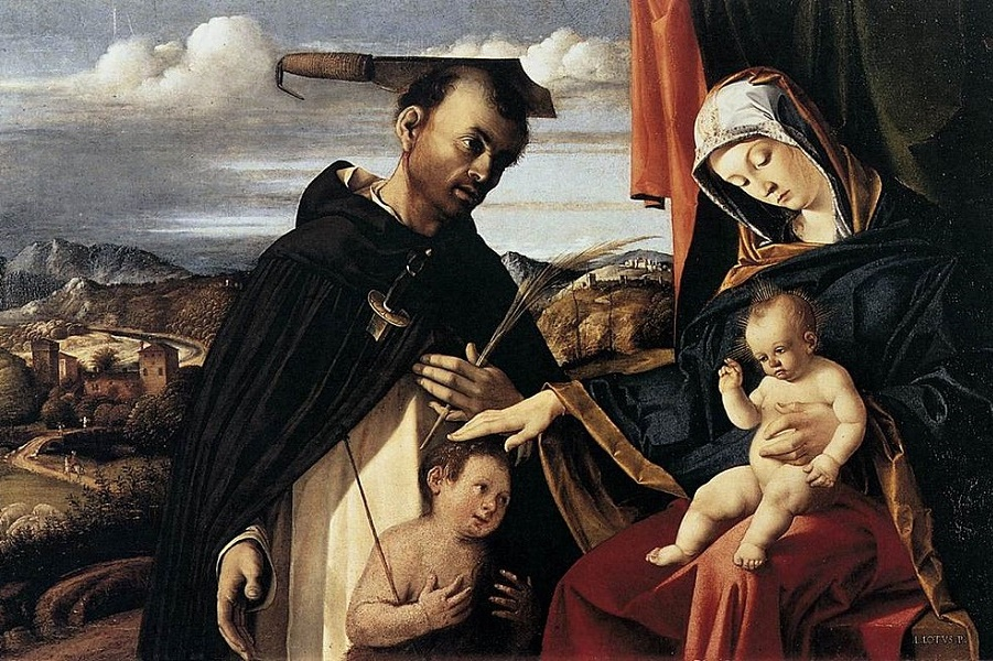 1024px-Lorenzo_Lotto_-_Madonna_and_Child_with_St_Peter_Martyr_-_WGA13648.jpg