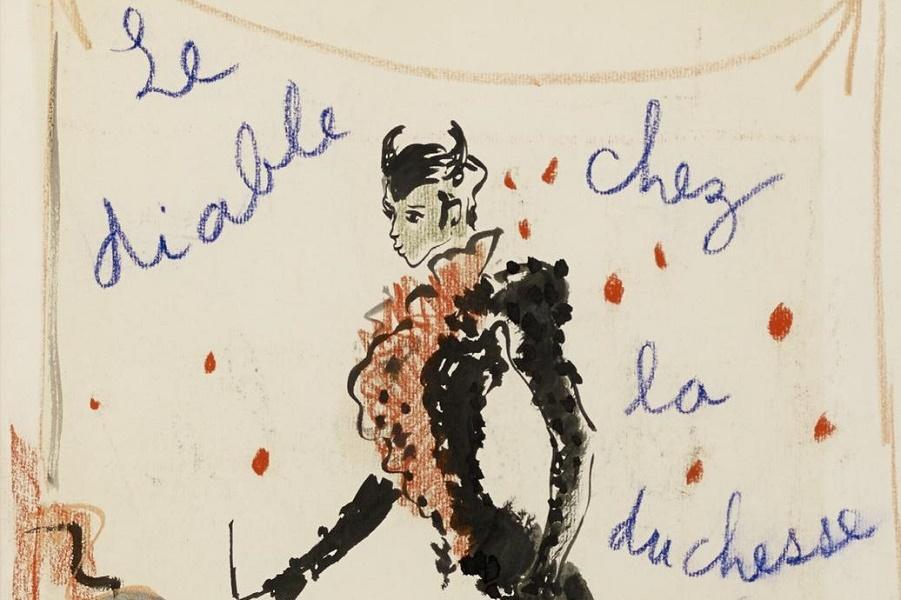 Дьявол в Париже: рисунки, оцененные в 200–1500 евро. Купили бы?