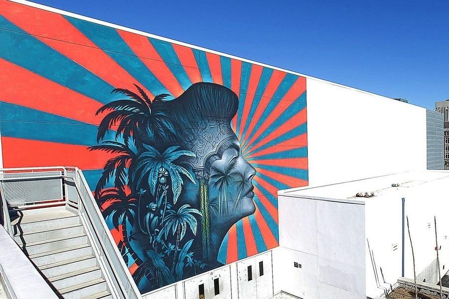 Страшная и скандальная фреска Лос-Анджелеса. Для корейцев